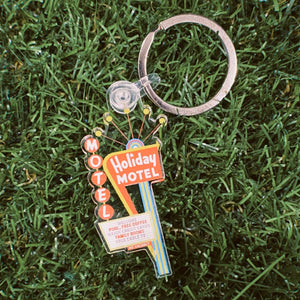 Holiday Motel Keychain
