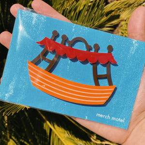 Jungle Boat Magnet