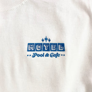 Motel (Pool & Cafe) Embroidered Shirt