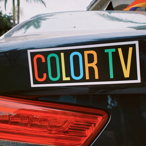 COLOR TV Car Magnet