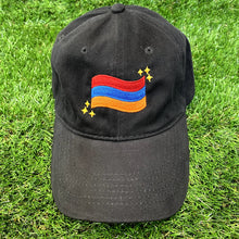 Load image into Gallery viewer, Armenian Flag Embroidered Hat PRE-ORDER