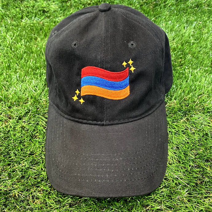 Armenian Flag Embroidered Hat