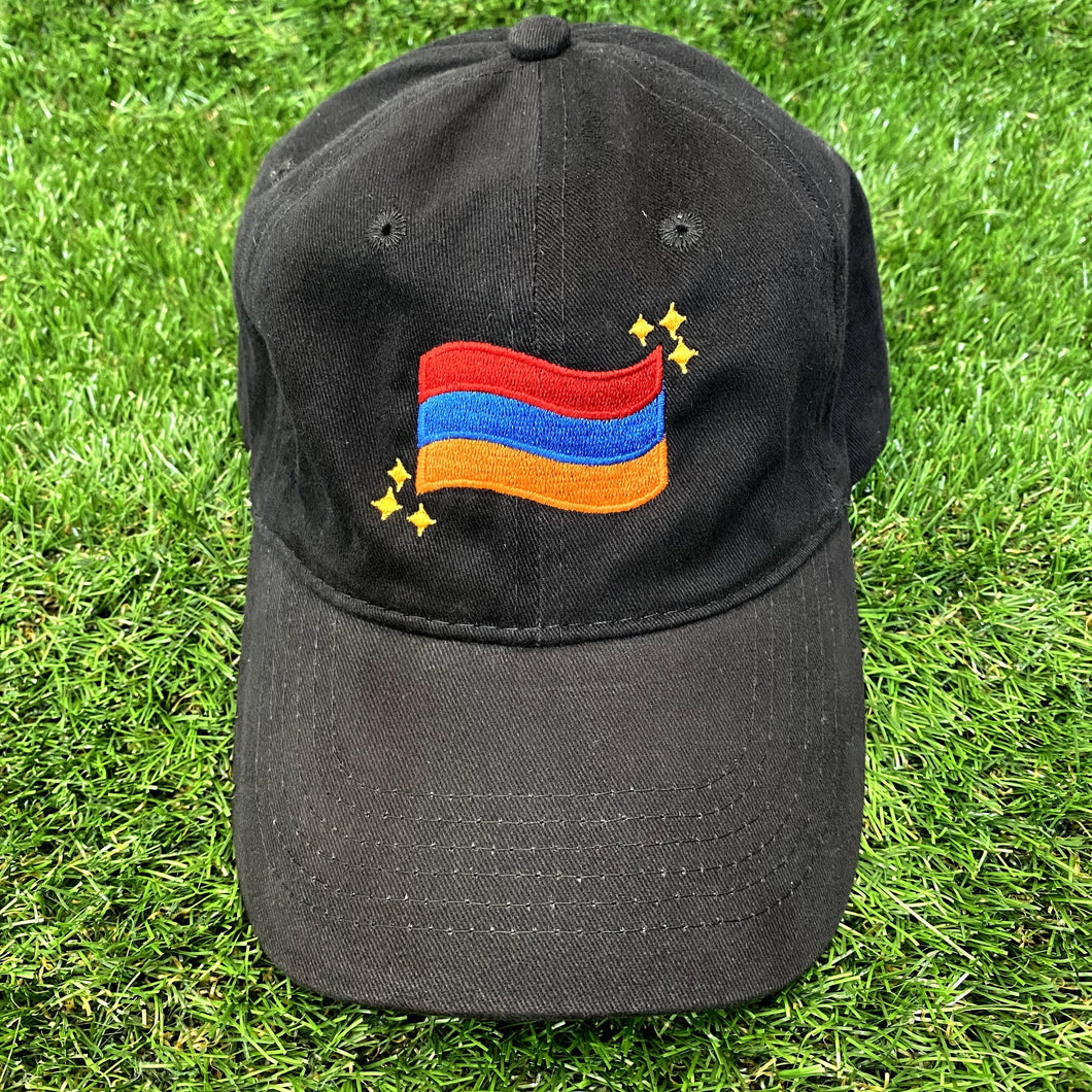Armenian Flag Embroidered Hat PRE-ORDER