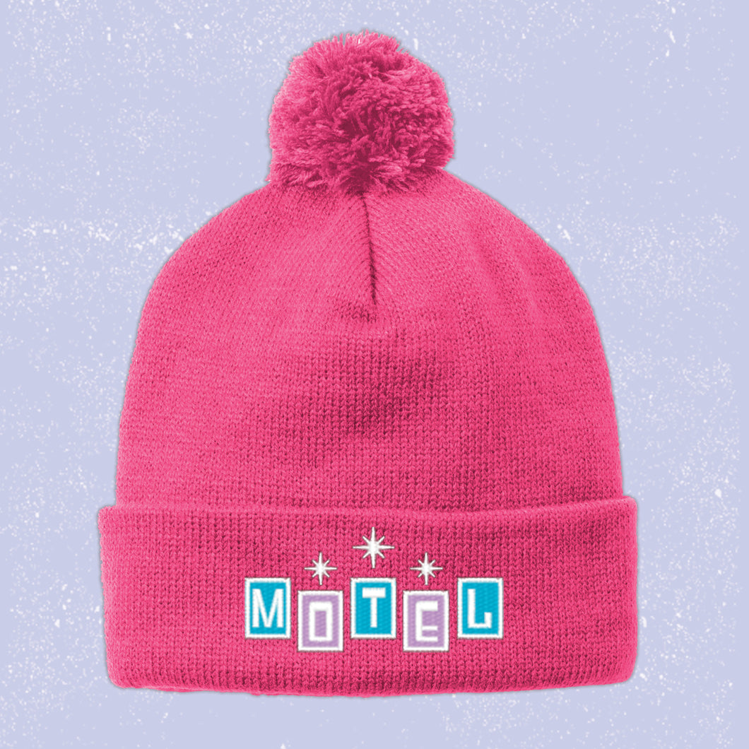 Embroidered Motel Beanie