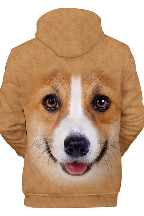 Unisex 3D Graphic Hoodies S Animals Dogs Pembroke Welsh Corgi