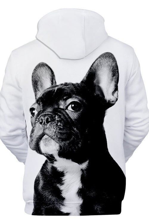 3D Graphic Hoodies  Animals Dogs French Bulldog Cute