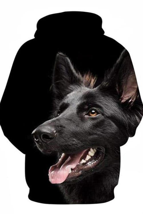 3D Graphic Hoodies Sweatshirts Animals Dog Art Belgian Shepherd