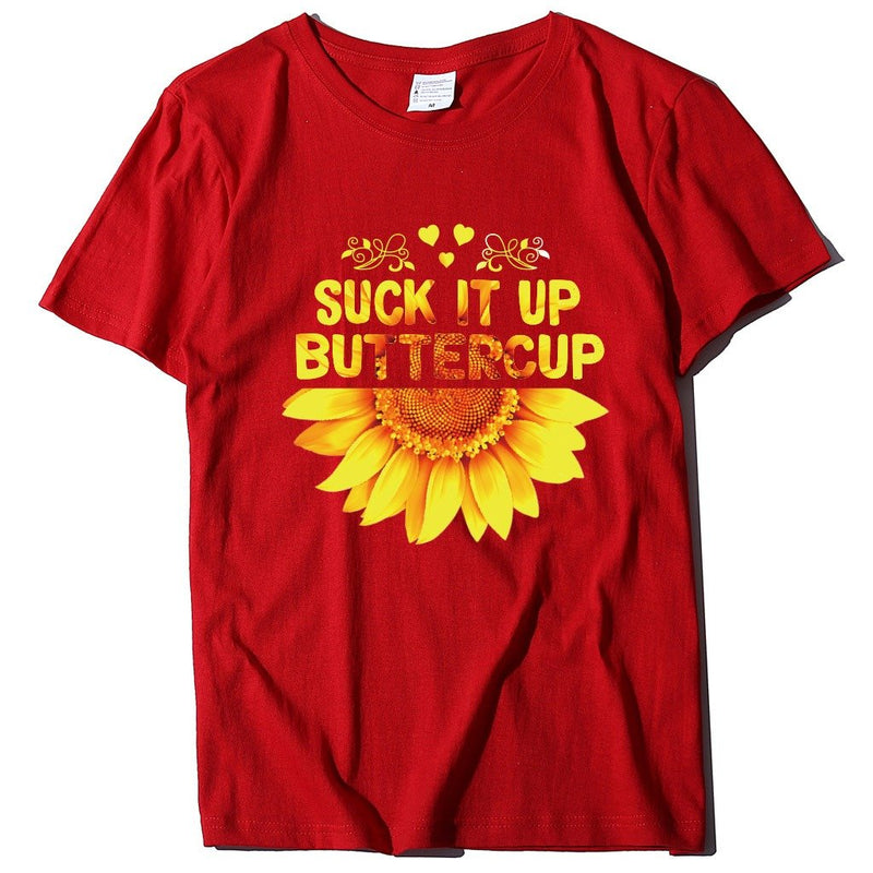 Sunflower monogrammed loose-fitting T-shirt