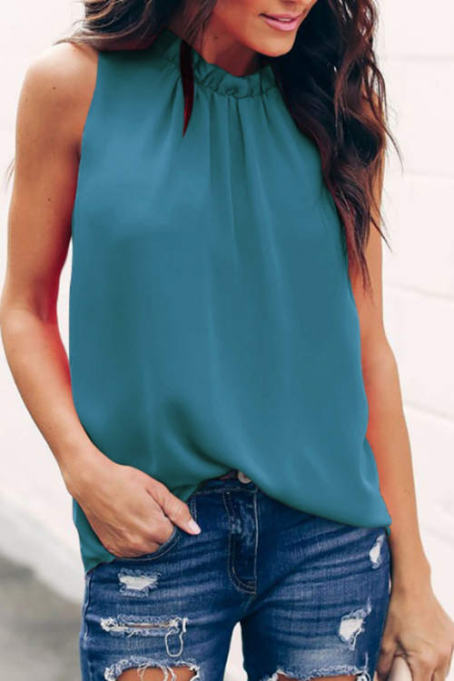 Pure Color Tank Top