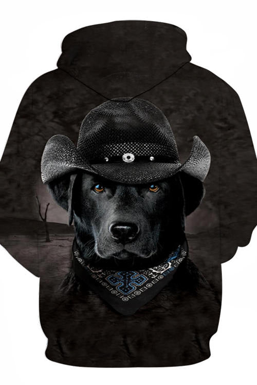 3D Graphic Hoodies  Animals Dogs Labrador