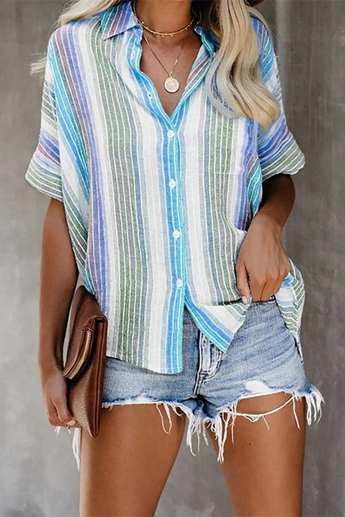 Striped Casual T-Shirt