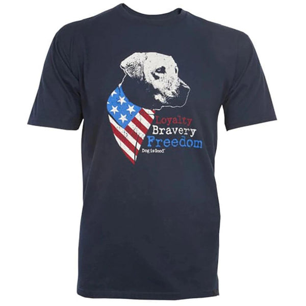 Adult Unisex 3D Short Sleeve T-Shirt Freedom Dog