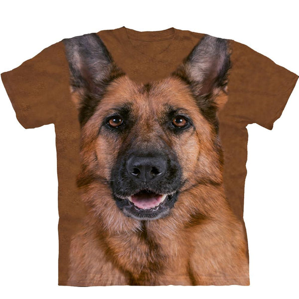 Adult Unisex 3D Short Sleeve T-Shirt German Shepherd Dog