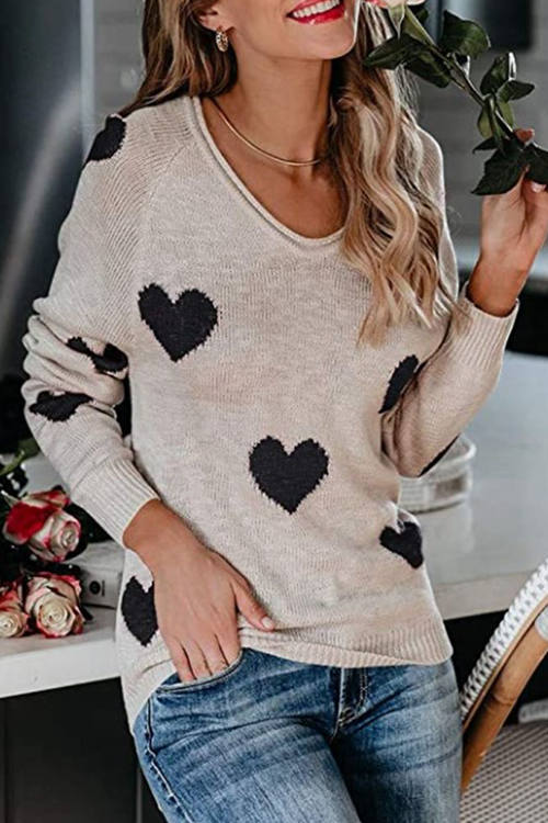 Love V-Neck Sweater