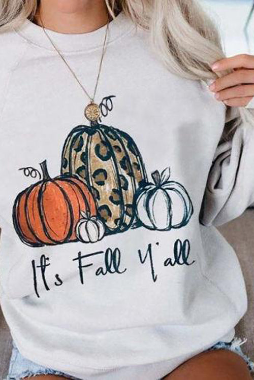 Halloween Casual Printed Pullover Shirt