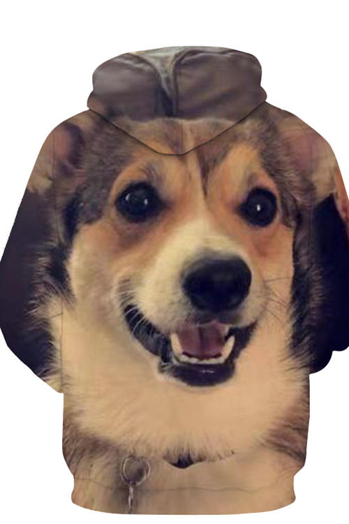 3D Graphic Hoodies  Animals Dogs