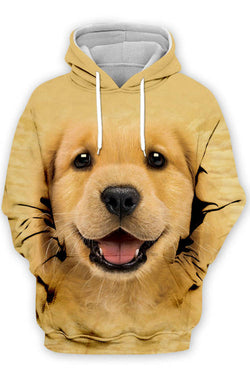 3D Graphic Hoodies  Animals Dogs Puppy