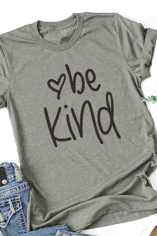 Be Kind Printed Short-Sleeve T-Shirt