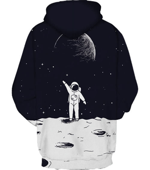 3D Outer Space Hoodie