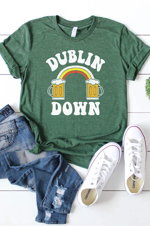 DUBLIN DOWN Short Sleeves T-Shirt