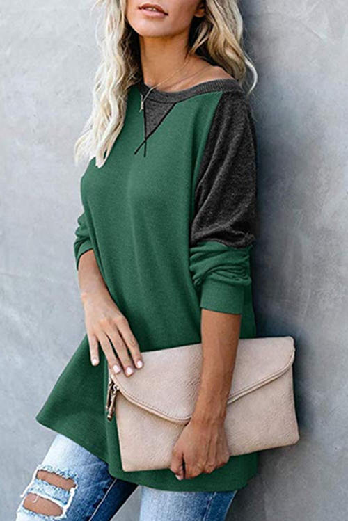 Casual One-Shoulder T-Shirt