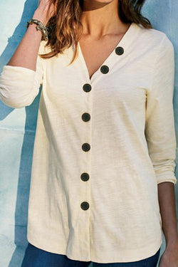 Cardigan Casual Long Sleeve T-Shirt