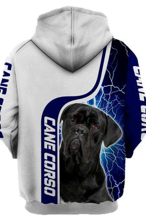 3D Graphic Hoodies  Animals Dog Art Cane Corso 2