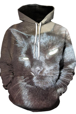 Unisex 3D Graphic Hoodies Animals Cats