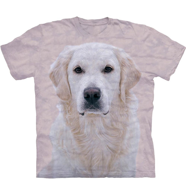 Adult Unisex 3D Short Sleeve T-Shirt Beige Labrador Retriever