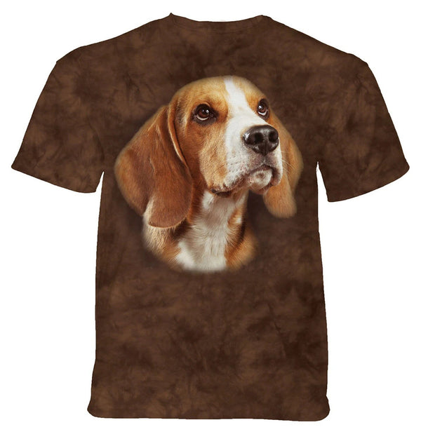 Adult Unisex 3D Short Sleeve T-Shirt Beagle Portrait