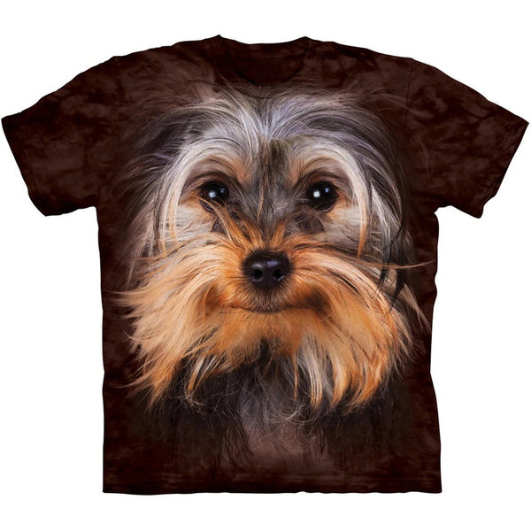 Adult Unisex 3D Short Sleeve T-Shirt  Yorkshire Terrier