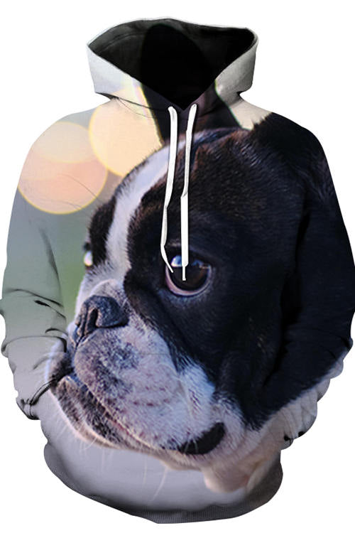 3D Graphic Hoodies Animals Dogs French Bulldog