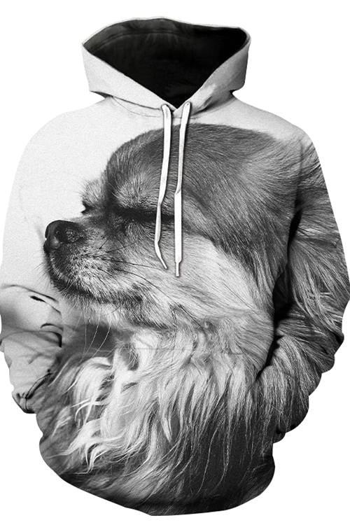 3D Graphic Hoodies Animals Dogs Enjoy Life