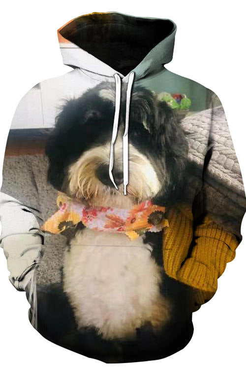 3D Graphic Hoodies Animals Dogs Lovely