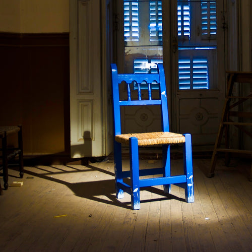 The Spanish Blue Chair