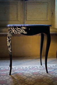 The black side table