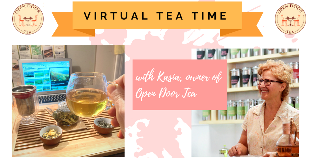 Virtual Tea Tasting for Groups
