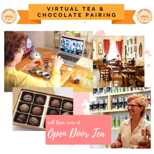 Virtual Tea & Chocolate Pairing