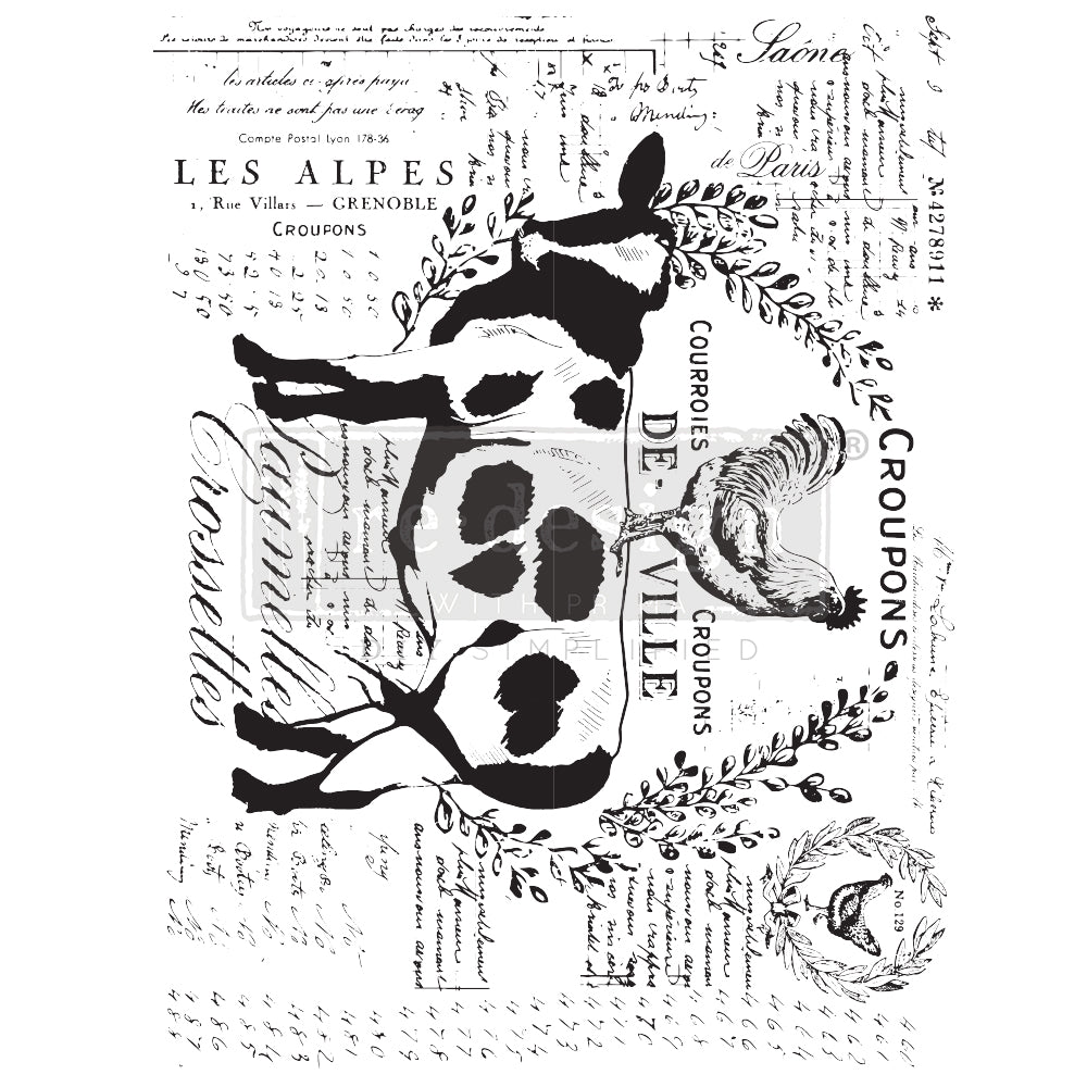 Re.Design Decor Transfers - Farm Delights