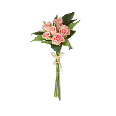 10 Inch Real Pink Touch Mini Rose Bundle (7 Stems)