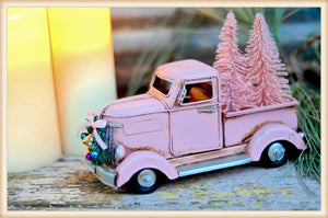 TINY PINK TRUCK