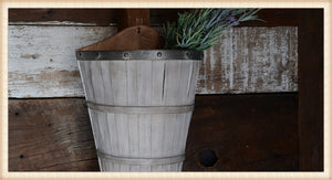 GREY WALL BASKET