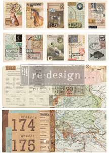 Redesign with Prima - Redesign Transfer - Ephemera Collector