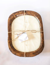 Load image into Gallery viewer, River Chic Candles - 6 Wick (Square) Dough Bowl Candle - Brown