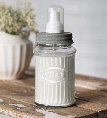 Hoosier Foaming Soap Dispenser - Barn Roof Lid