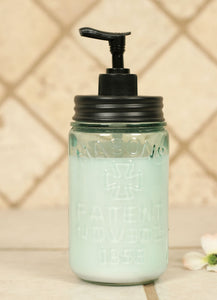 Pint Mason Jar Soap Dispenser