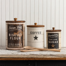 Load image into Gallery viewer, Farmhouse Canister Set - Double Sided