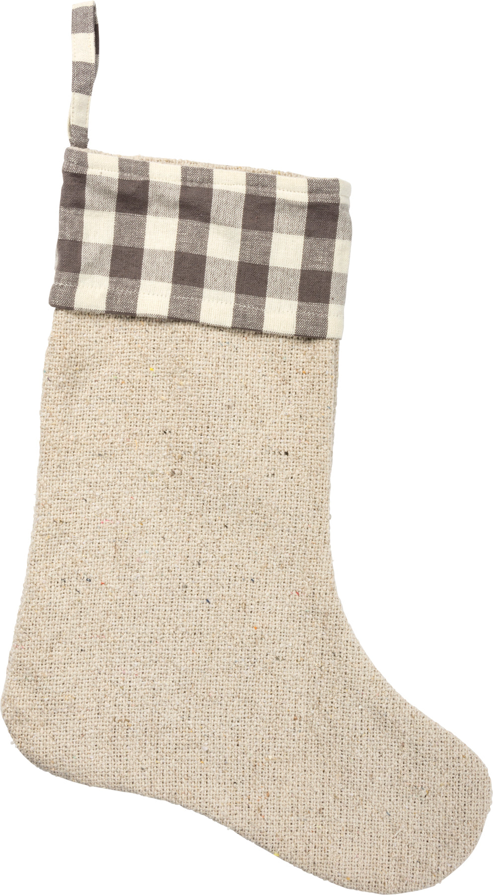 Farmhouse Burlap - Stocking