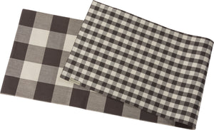 Runner - Buffalo Check / Gingham (Double Sided)