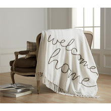 Load image into Gallery viewer, WELCOME HOME THROW BLANKET
